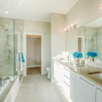 Bathroom of Show Home - Wilden Living Lab