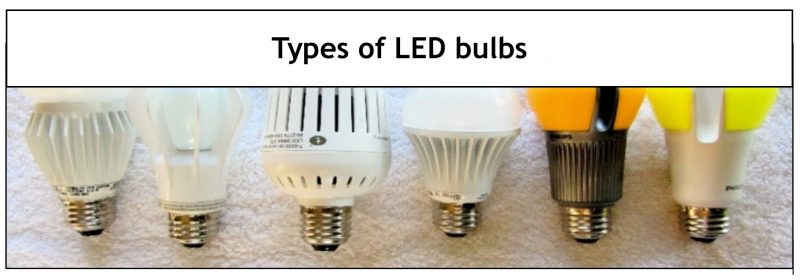 TYPES-OF-LED-LIGHT-BULBS